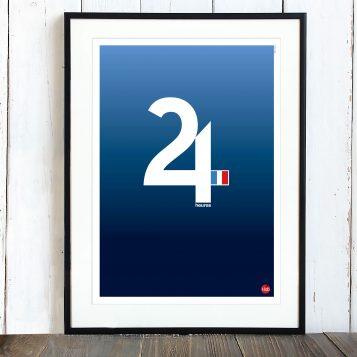 T-lab-Endurance-motorsports-poster-framed