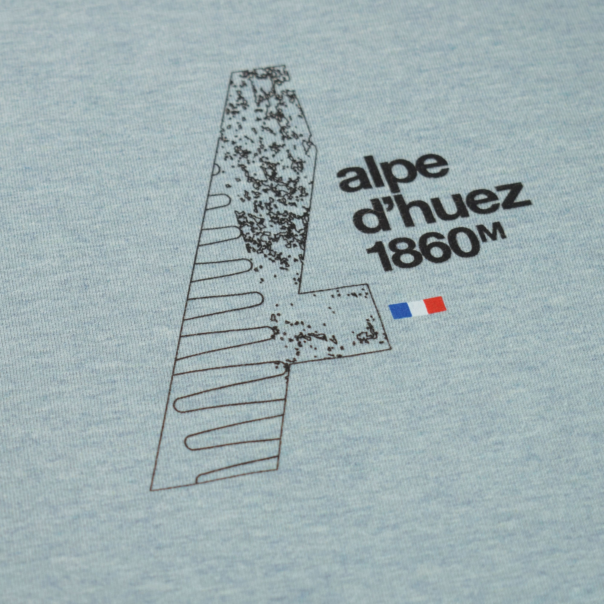 T-lab-mens-t-shirt-Alpes-DHuez-Heather-Ice-Blue