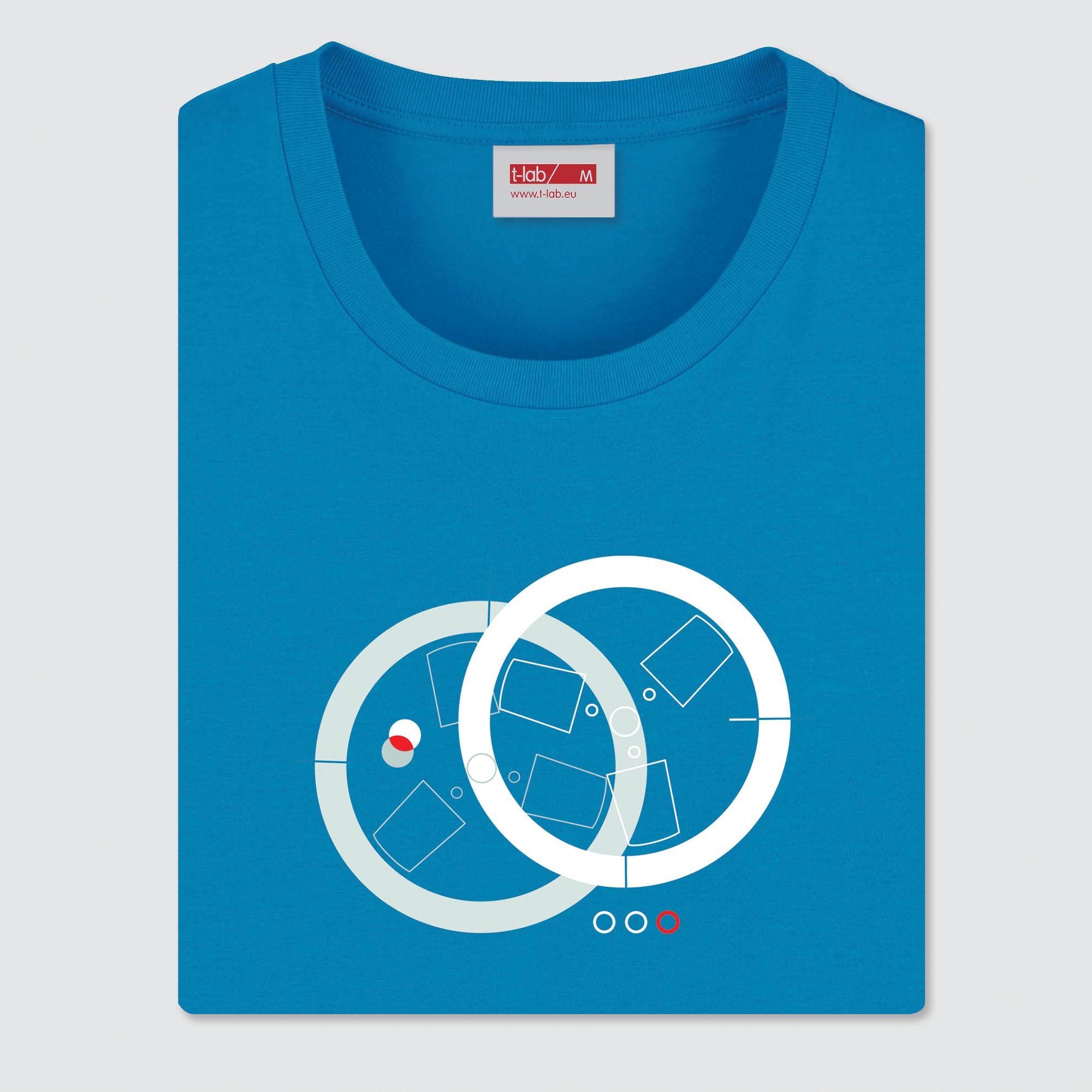 Open-Reel-T-lab-mens-t-shirt-azure