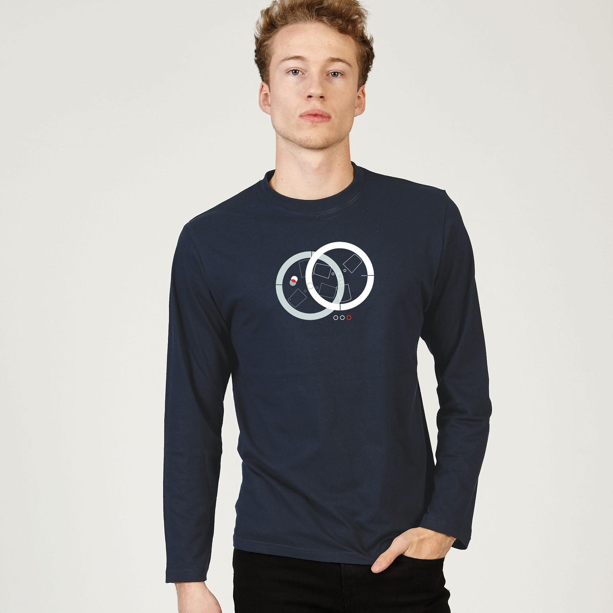 T-Lab-Open-Reel-mens-longsleeve-t-shirt-navy